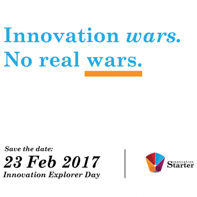 Innovation Explorer 2017: Innovation wars. No real wars.