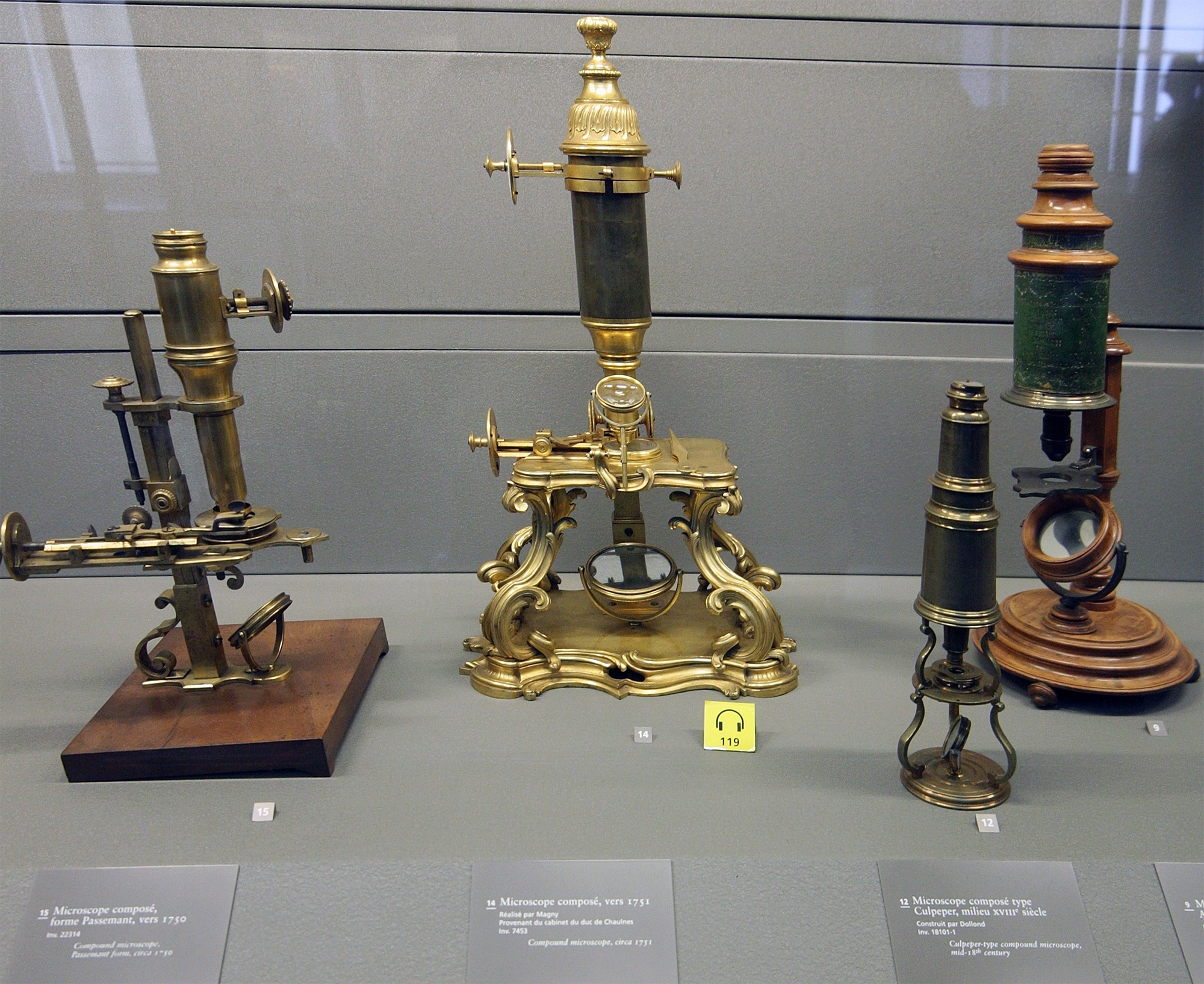 Old-microscopes